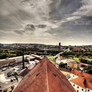 Pohled z věže